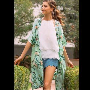 franchescas pacey split back kimono